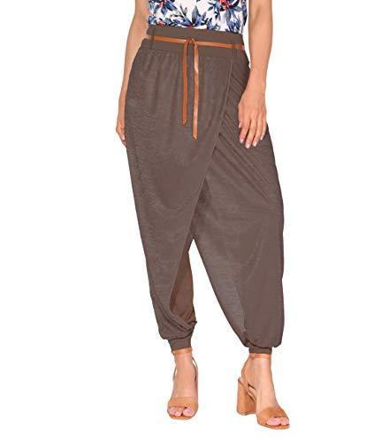 KRISP Pumphose Aladin Yoga Baggy Style (Mokka, Gr.L) (4866-MOC-L) -