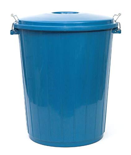PAMEX - Cubo de Basura 50L Colores Azul