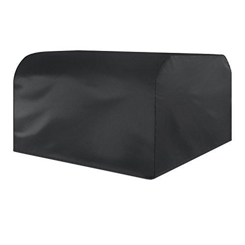 Saking Garden Coque étanche d'extérieur Patio meubles de protection Polyester rectangulaire Housse de protection pour table meuble 250x250x90cm