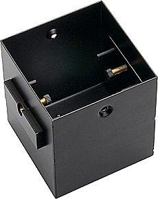 SLV Aixlight Pro 50 1 Frameless Einbaurahmen inklusive Einbau-Kit, schwarz 115351 -