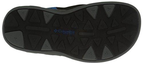 Columbia Childrens Techsun Vent, Unisex-Kinder Bootschuhe Mehrfarbig (Dark Compass/Nuclear)