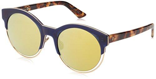 Dior Damen DIORSIDERAL1 K1 XW7 Sonnenbrille, Blau (Bluette Havana/Brown Gold Grey Speckled), 53