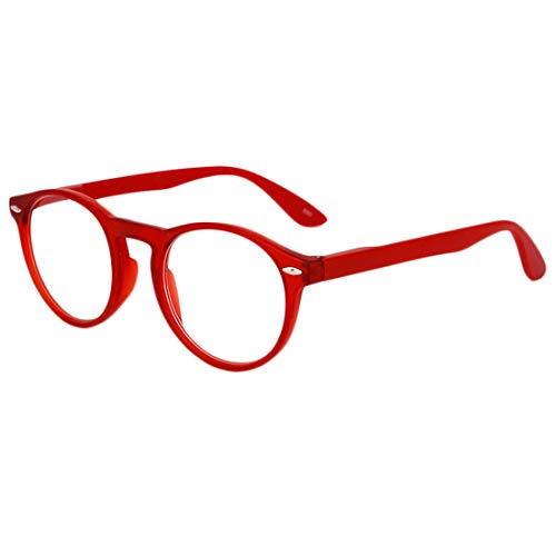 eec8ac02e8 Inlefen Reading Glasses Hombres Mujeres Unisex Ronda Vintage Full Frame  Readers Gafas Spring Hinged With Case
