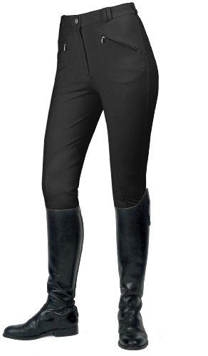 Mark Todd Gisborne Pantalon d'équitation pour femme Noir (Black)