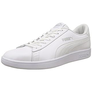 Puma Puma Smash v2 L, Unisex-Erwachsene Sneakers, Weiß (Puma White-Puma White), 47 EU (12 UK)