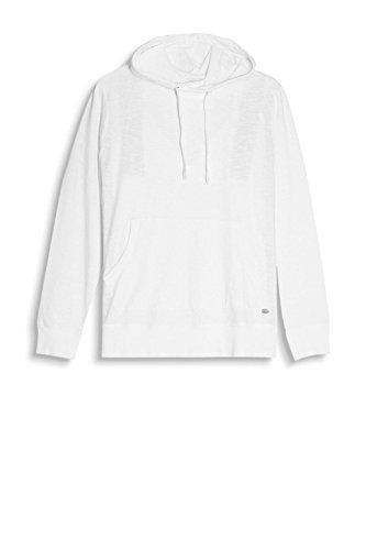 ESPRIT Herren Kapuzenpullover 087EE2K014 Weiß (White 100)