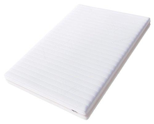 Hilding Sweden Essentials Memoryschaum Matratze in Weiß / Mittelfeste Matratze aus thermoelastischem Visko-Komfortschaum für alle Schlaftypen (H2-H3) / 200 x 160 cm