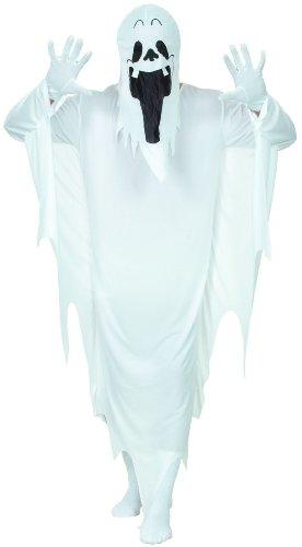 Gespenst-Kostüm für Erwachsene Halloween - Einheitsgröße
