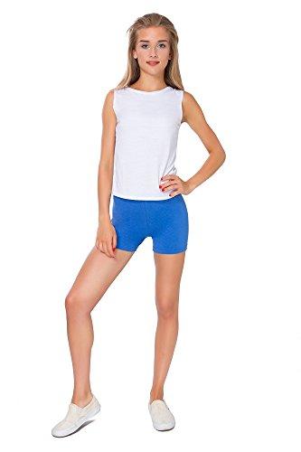 FUTURO FASHION super weich Baumwollshorts elastischer Stretch Yoga Schlüpfer UK 8-22 PSL5 - Königsblau, 36 -