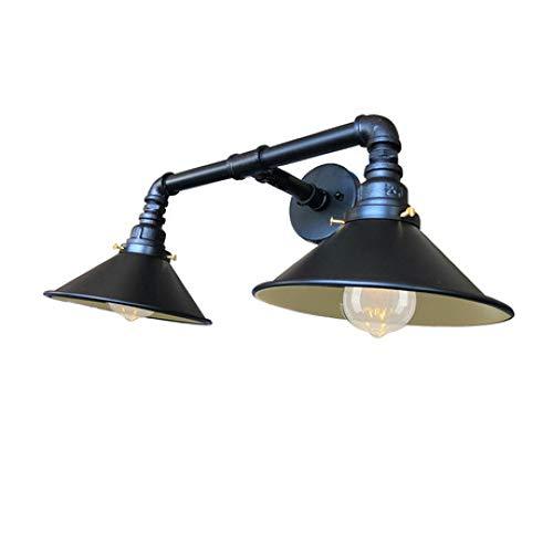 Dakecy Lámpara de Pared Vintage, lámpara de Pared de tubería de Agua...