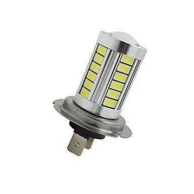 GANTA® 2pcs super helle h7 33 smd 5630 führte Autoscheinwerfer Nebel treibende Glühbirne weiß 12-24V , dc12v H3 Führte Nebel-licht-lampe