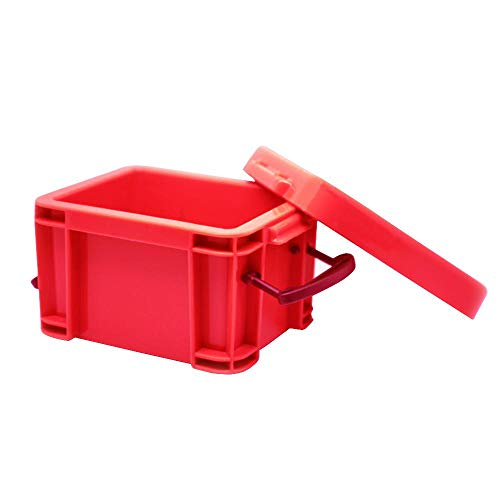 FOONEE Mini-Kunststoff-Box Lagerplätze, Kleine Candy Storage Organizers Fall mit Deckel, Kunststoff-Aufbewahrungsbehälter Mini Schmuckschatulle.