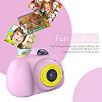 Little Buddy Digital Camera for Kids Mini 2 Inches Screen, Video Recorder Camcorder with Loop Recording Toy Camera for Kids Girls Or Boys (Without SD Card) Multicolor