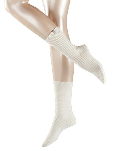 ESPRIT Damen Socken Wellness, Weiß (Offwhite 2040), 39/42 (Herstellergröße: 39-42) (Damen-kaschmir-socken)
