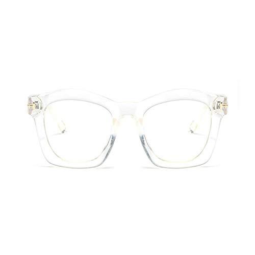 YLNJYJ Sonnenbrillen Dame Butteyfly Brillenfassungen Für Frauen Platz T Rivet Optische Brillen Mode Brillen