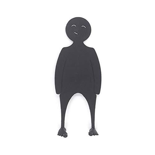 XuBa - Segnalibro divertente a forma di persona, colore casuale
