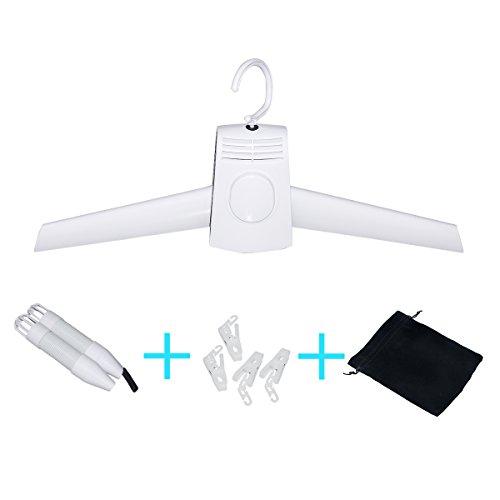 TEQIN Multifunktions Tragbare Kleider/Schuhe Trockner Unterstützung Heißer und Kalter Wind und Anzug für Reisen, Geschäftsleben, Startseite