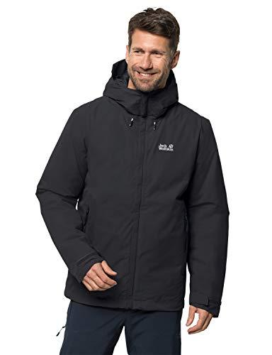 Jack Wolfskin Herren Argon Storm Jacket M Wetterschutzjacke, black, S