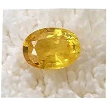Yellow Sapphire Gemstone Unheated Untreated Certified Natural 100% Original Pukhraj Stone 11.25 Ratti by Vaibhav Gems
