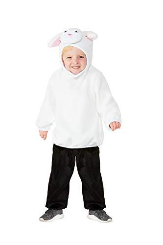Kleinkind Kostüm Lamm Für - Smiffys 47705T1 Kleinkind Lamm Kostüm Unisex Kinder
