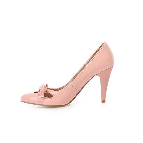 balamasa pour femme à enfiler High-Heels massif Matière souple pumps-shoes Rose