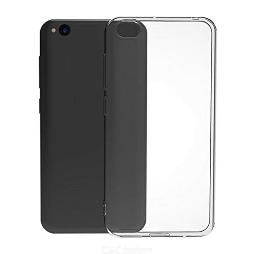 TBOC Coque Gel TPU Transparent pour Xiaomi Redmi Go [5.0 Pouces] Étui en Silicone Souple Ultra Mince Housse Téléphone Portable