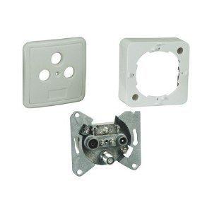 Preisvergleich Produktbild 2 Stück FD 6 Set Ci 3-Fach SAT Antennendosen Stich- oder Enddose 1 dB