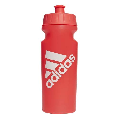 Adidas performance - borraccia da 500 ml, unisex, shock red/shock red/raw white, taglia unica