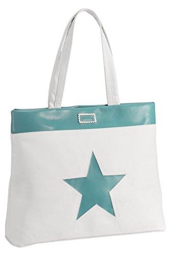 Preisvergleich Produktbild Alondra Ocean–Bag-Brotkasten, weiß/grün