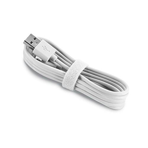 Aiino Samsung Micro USB a USB cavo dati per ricarica e sincronizzazione, Rosa Bianco