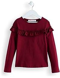 RED WAGON Mädchen Sweatshirt mit Rüschen