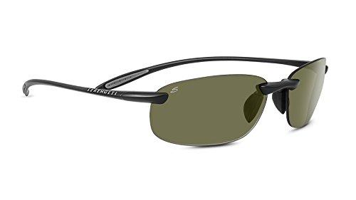 Serengeti Eyewear Sonnenbrille Nuvola, Satinack/Polar Phd, 8446