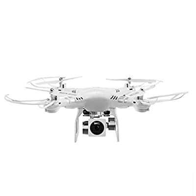 Gaddrt RC Quadcopter Camera RC Drone Helicopter with 120 Degree Wide-Angle 1080P HD Camera - Altitude Hold, Headless Mode, 270 degree Rotating camera,One Key Hovering