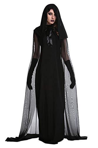 Damen Maxi - Kleider Halloween - Kostüm Cosplay -
