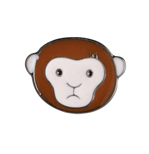 Kostüm Affe Kreative - Redyiger Kleines und exquisites Abzeichen Kreative AFFE Tier Brosche Button Abzeichen Kostüm Zubehör