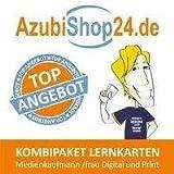AzubiShop24.de Kombi-Paket Lernkarten Medienkaufmann /frau Digital und Print: Erfolgreiche Prüfungsvorbereitung auf die Abschlussprüfung - Michaela Rung-Kraus, Jennifer Christiansen