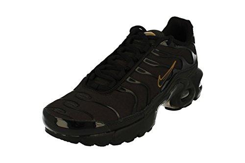 9ef060c3ed4 Nike garçon Air Max Plus (GS) Chaussures de Course à Pied - Noir -