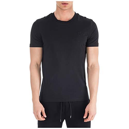 MCQ Alexander McQueen Herren T-Shirt Swallow Nero L