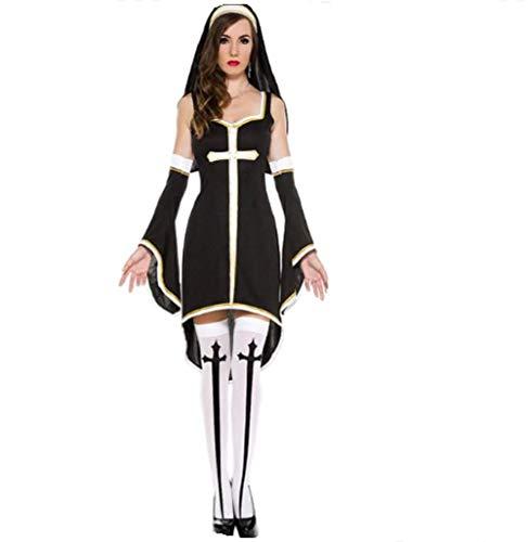 Top Totty Smiffy's - Costume da Suora Sexy, Donna
