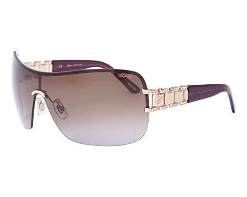 Chopard - SCHA62S, Weitere Brillenformen, Acetat/Metall, Damenbrillen, COPPER GOLD BROWN/DARK BROWN SHADED(08FC V), 99/0/120