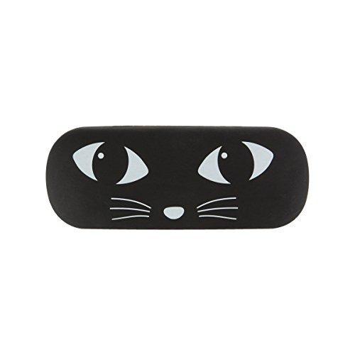 Black Cat Brillengläsern - Sonnenbrillen Lesespeicher Specs Zubehör Case (Cat Shaker)