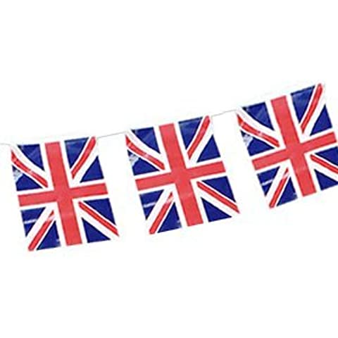 UNION JACK PLASTIC BUNTING 10 METRES by Pams