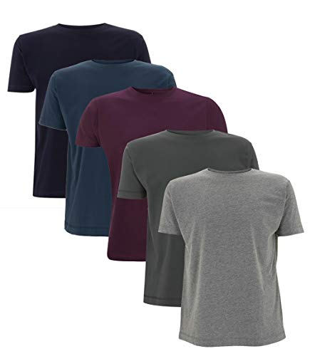 Da Londra Mens 5 Pack Plain 100%...