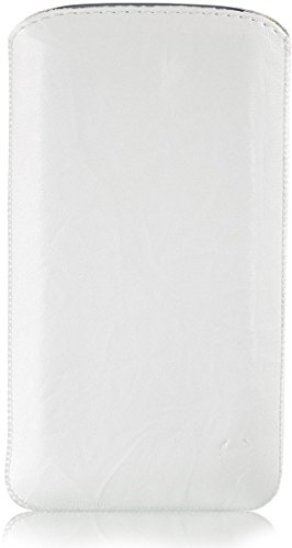 MediaDevil Apple iPhone X Étui en Cuir (Cognac avec Couture Marron)