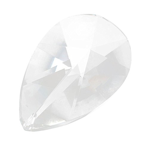 Asfour 76mm Kristallglas #873-76 Gartenstecker (Teardrops Crystal)