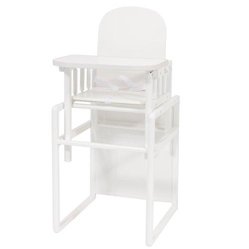 BOLIN BOLON 1044804019200 - Seggiolone con vassoio scorrevole, colore: Bianco