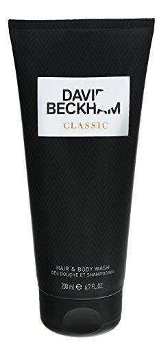 3 x David Beckham Classic Showergel / Duschgel je 200ml/ for Man/ für den Mann
