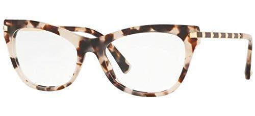 Valentino Brillen ROCKSTUD VA 3041 BEIGE HAVANA Damenbrillen