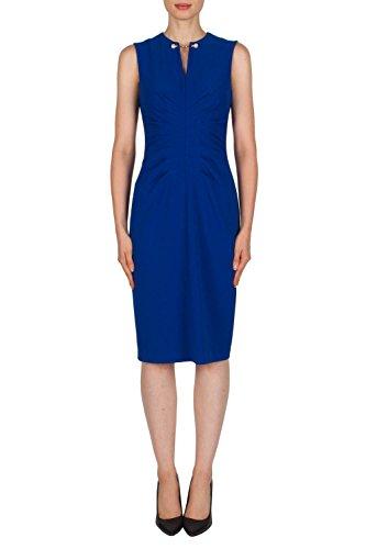Joseph Ribkoff Pearl Accent Sleeveless Sheath Dress Style 181413