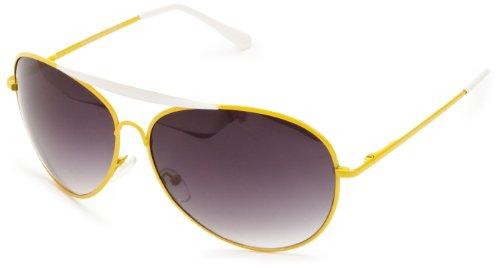 8ebdaf5392ac Quay Eyewear Australia 1492 Aviator Sunglasses Yellow One Size - Buy Online  in Oman.